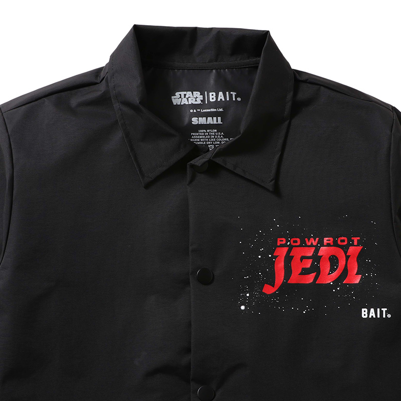 【BUY2GET10%OFF対象】<Star Wars Jedi> BAIT Men Powot Polish Corches Jacket - 206-SWS-JKT-001