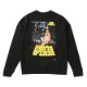 【BUY2GET10%OFF対象】<Star Wars A New Hope>BAIT Men Hebrew Crewneck Sweater - 206-SWS-SWT-001