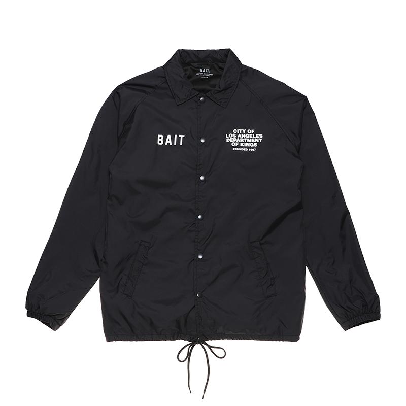 < BAIT DEPARTMENT COACH JACKET > - 216-BAT-JKT-001