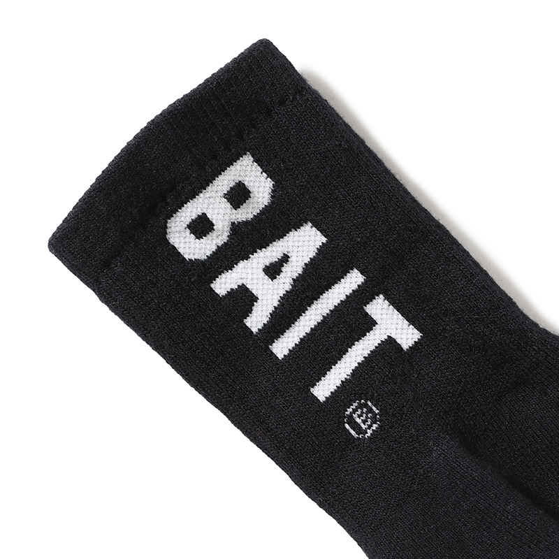 < BAIT LOGO CREW SOCKS > - 777-BAT-SCS-001