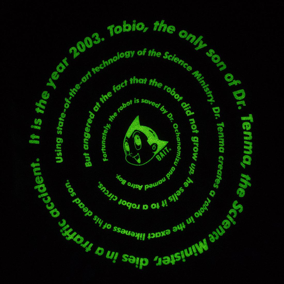 < BAIT ASTRO BOY SPIRAL TIE DYE TEE > - 215-ASB-TEE-004
