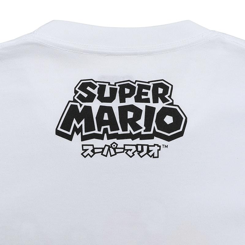 < スーパーマリオ BAIT MARIO ALLCHARACTER TEE > - 216-SPM-TEE-002