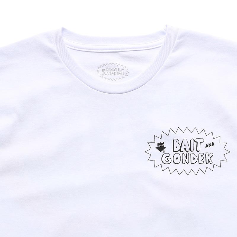 BAIT B&BxGONDEK MASTER SPRAY TEE - 207-BAB-TEE-003