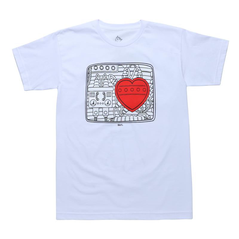 BAIT ASTRO BOY HEART TEE - 214-ASB-TEE-001