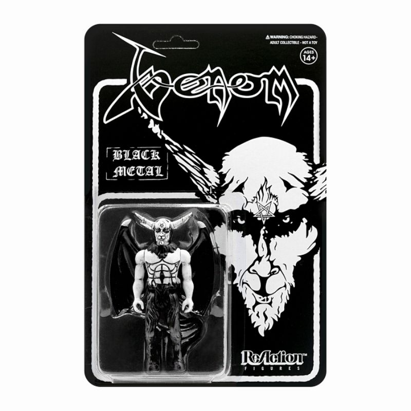 SUPER 7 VENOM:BLACK METAL  - 590938