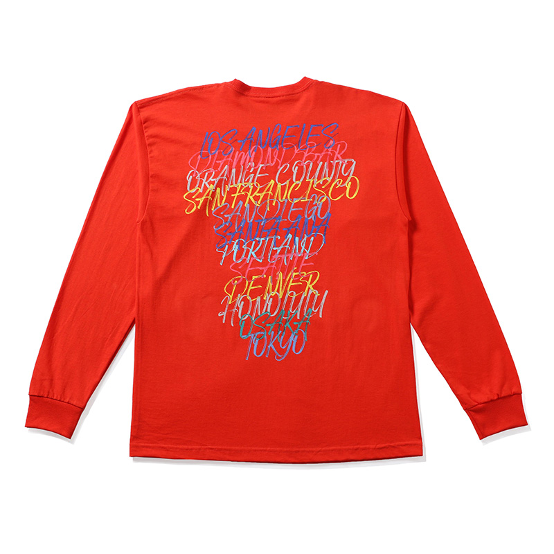 【SALE】BAIT Doors Long Sleeve Tee  - 197-BAT-TEE-008