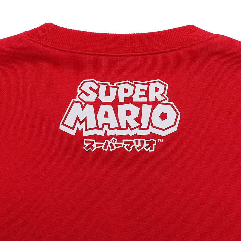 < スーパーマリオ BAIT MARIO ALLCHARACTER CREW > - 216-SPM-SWT-001