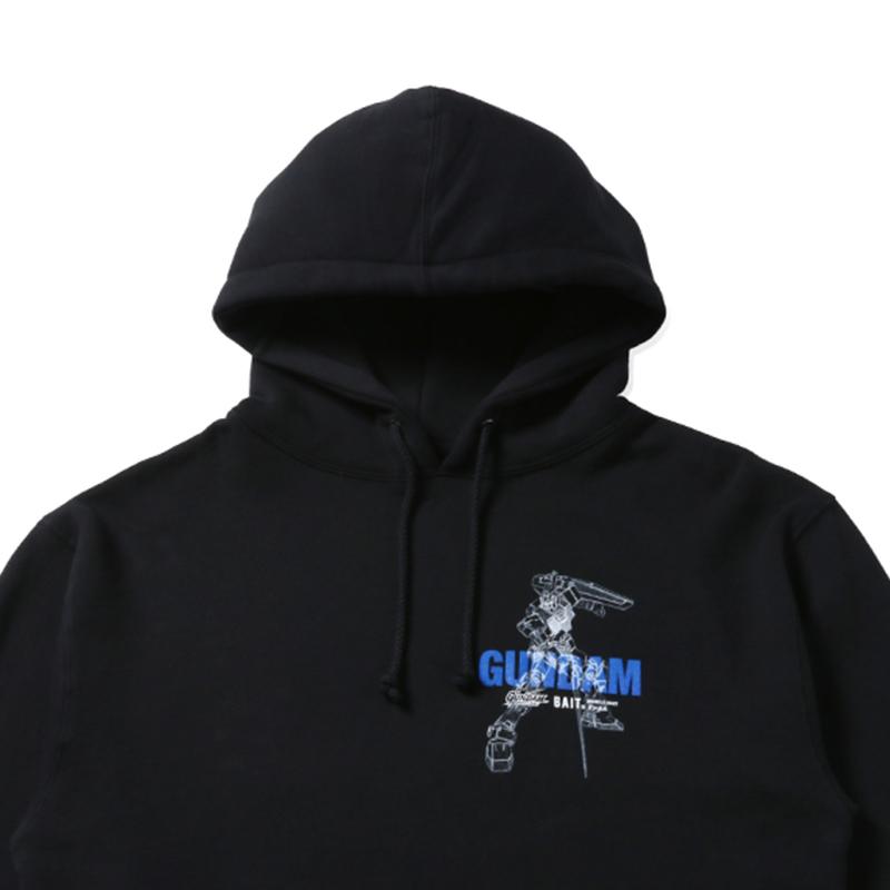 BAIT Gundam RX78 HOODIE - 204-GDM-PRK-001