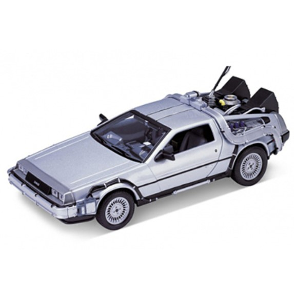 """WELLY 「バック・トゥ・ザ・フューチャー」DeLorean DMC-12 BTTF1"" - 4548565348510"