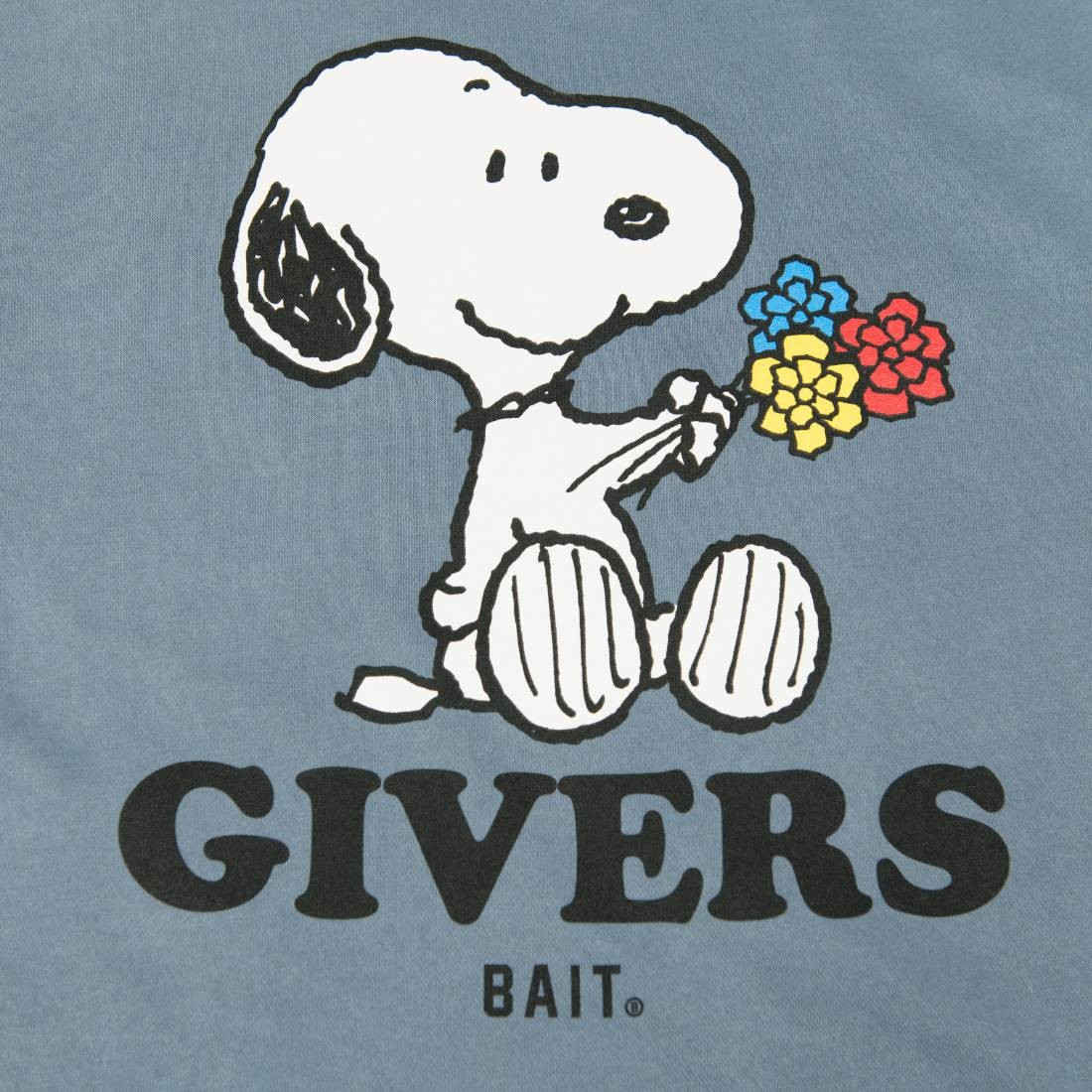 BAIT SNOOPY GIVERS SWEAT - 204-SNP-SWT-002