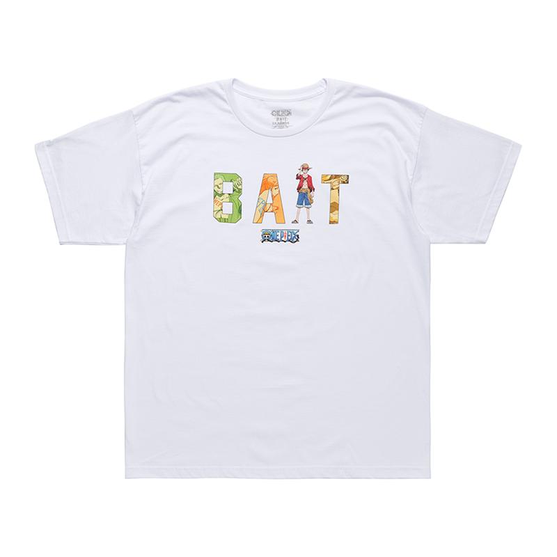 BAIT ONEPIECE BAIT LOGO LUFFY TEE - 216-OPC-TEE-004