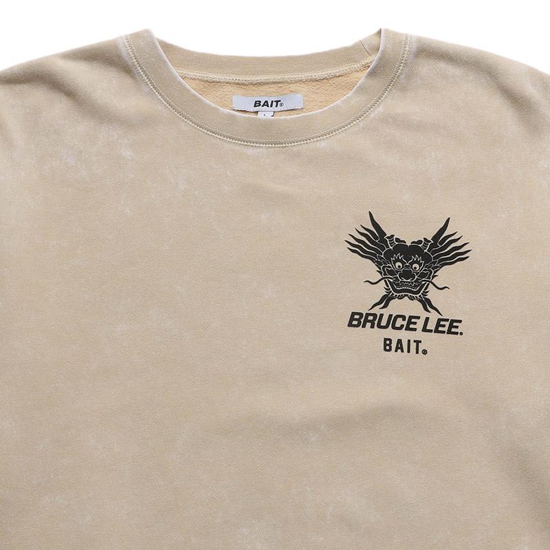 < 【AUTUMN SALE】【30%OFF】BAIT BRUCE LEE DRAGON CREW SWEAT > - 207-BRL-SWT-001