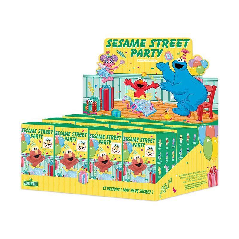 POP MART セサミストリートパーティーシリーズBOX - 6941448608523BOX