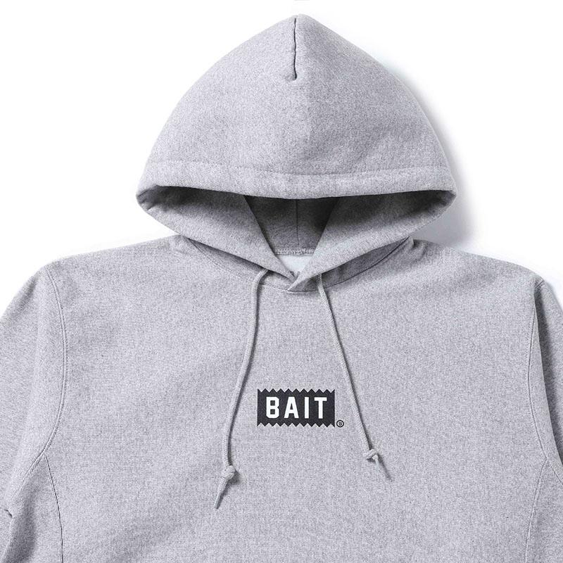 < 【BAITキーホルダープレゼント中】BAIT MARK HOODIE > - 777-BAT-PRK-001