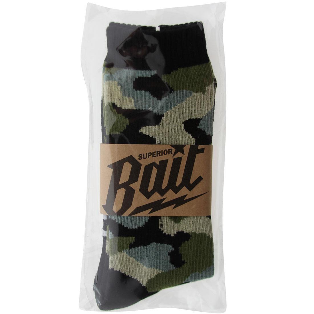 BAIT PREMIUM VANQUISH CAMO CREW SOCKS - BAVNQISHSOCK