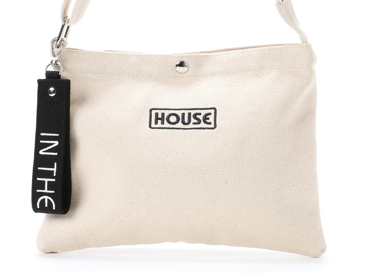 【60%OFF】IN THE HOUSE CANVAS SHOULDER BAG SMALL 2 - ith-0062