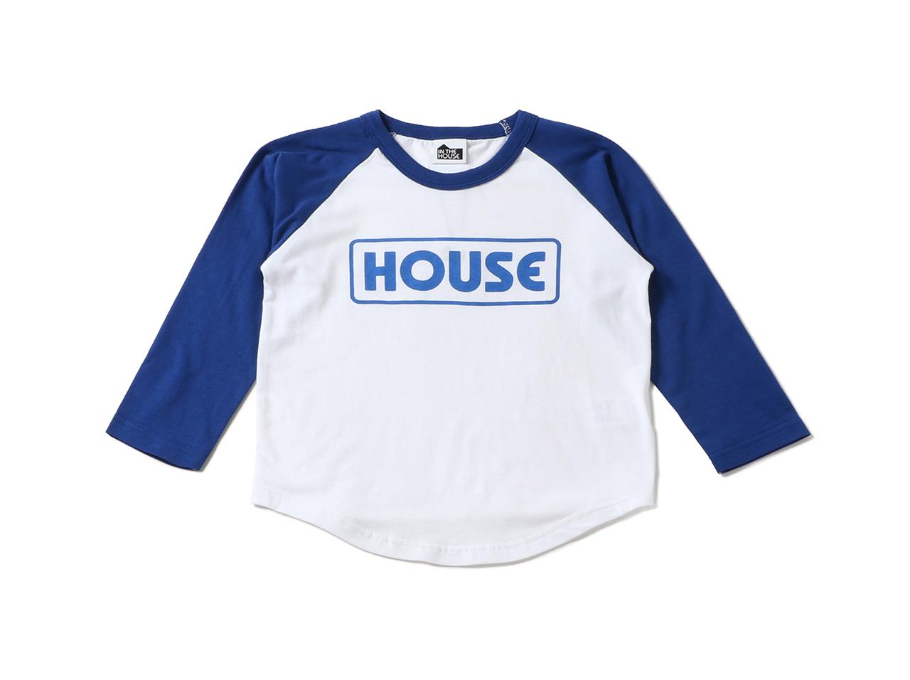 【40%OFF】IN THE HOUSE BOYS RAGLAN TEE ith-0137