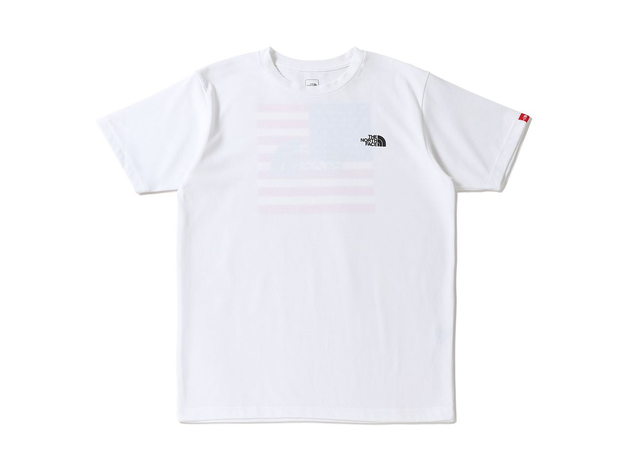 【10%OFF】THE NORTH FACE S/S National Flag Tee - NT32053