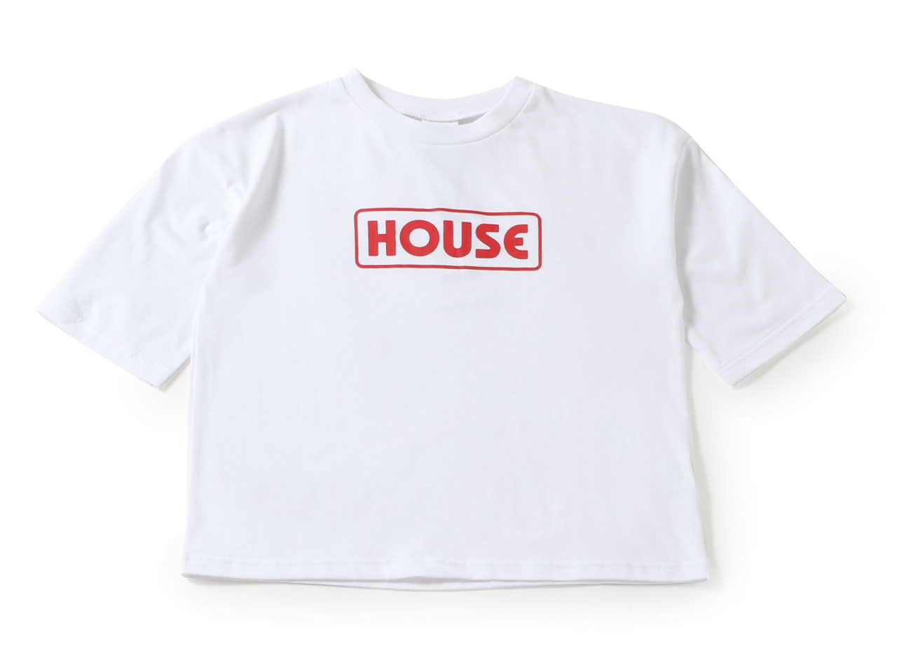 【50%OFF】IN THE HOUSE GIRL BIG SS TEE ith-03