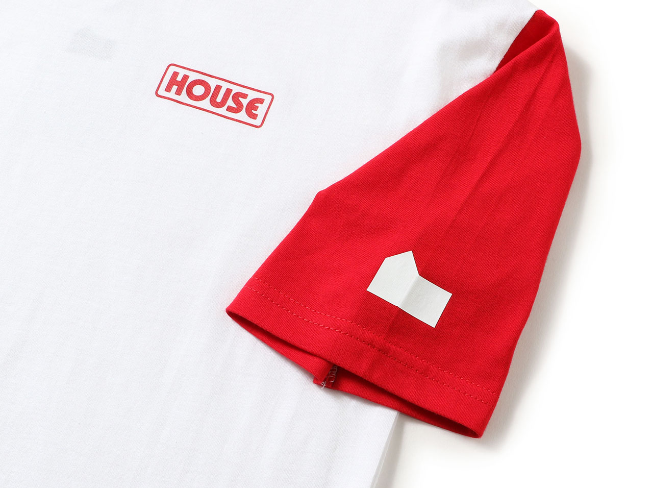 【50%OFF】IN THE HOUSE GIRL BI COLOR BIG SS TEE ith-01