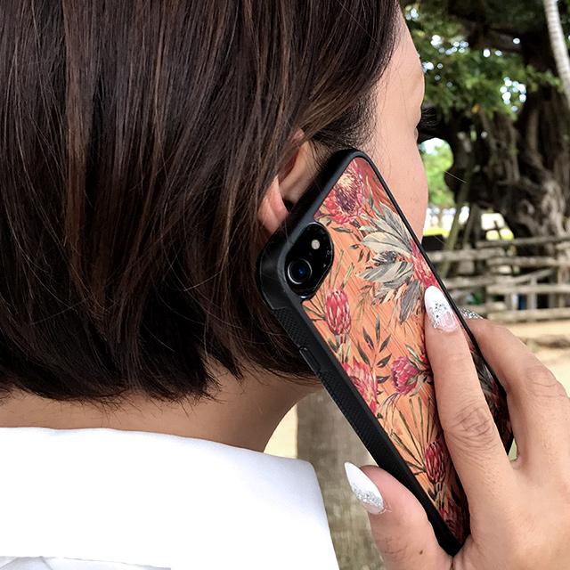 昇華転写プリント フラワーコレクション ボタニカル iPhoneケース【iPhone 11/11Pro/11ProMax/XSMax/XS/X/XR/8/8Plus/7/7Plus/6s/6/SE/5s/5】 アルミ板