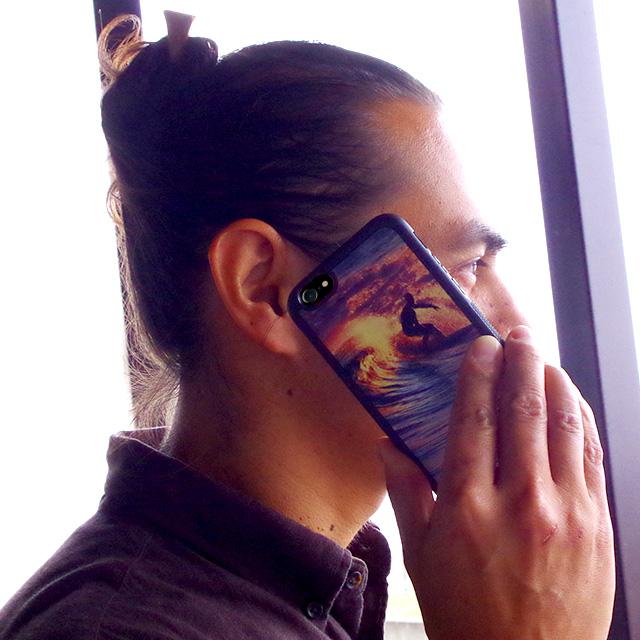 昇華転写プリント マリンケース【iPhone 11/11Pro/11ProMax/XSMax/XS/X/XR/8/8Plus/7/7Plus/6s/6/SE/5s/5】 海好き ハワイ