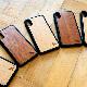 木製 iphone ペットファミリー 送料無料 ウッド ケース iPhone 11ProMax iPhone XS Max iPhone XR iPhone8 木目 動物 犬 猫 爬虫類 case 名入れなし