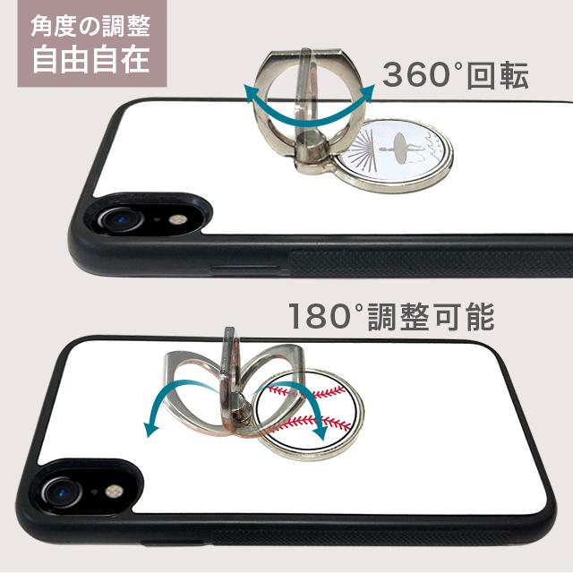 【送料無料】割れない鏡 ビーチ ミラー リングスタンド リング スタンド バンカーリング スマートフォン スマホ タブレット 落下防止 全機種対応 iPhone