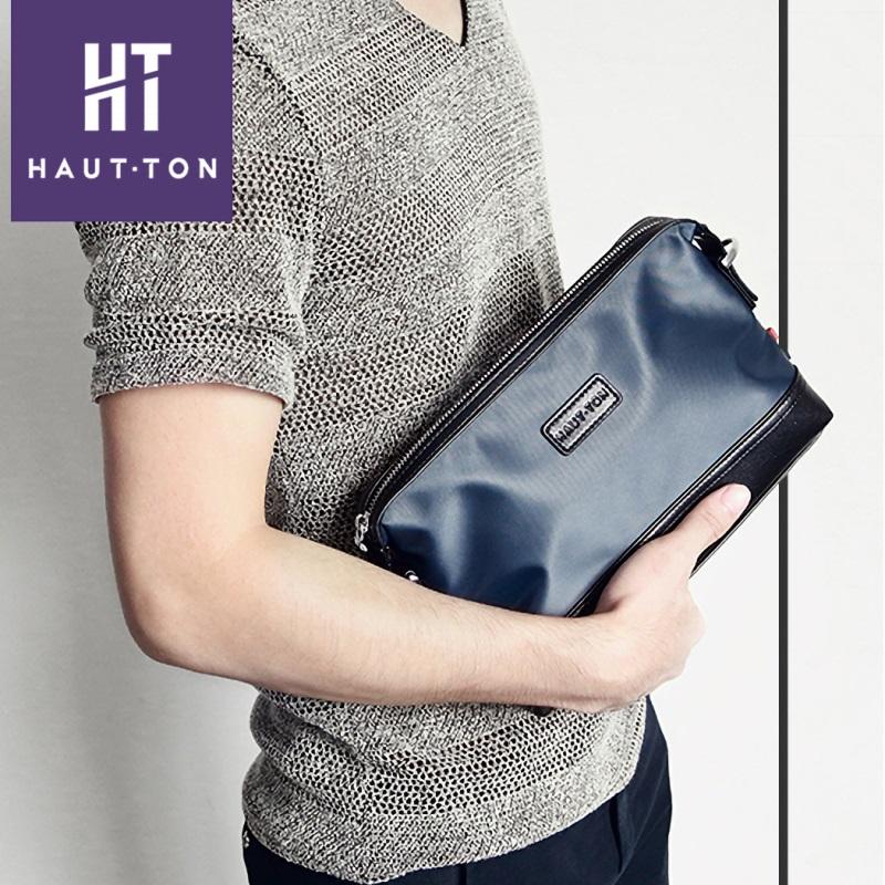 HAUTTON  セカンドバッグ ショルダーバッグ メンズ 2way 斜めがけ