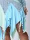 ピーターパンカットが軽やかなライトブルー(薄い青)ドレス