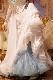 天に舞うパールホワイト(白)のフェニックスデザイン