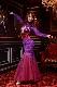 ドラゴン&プリンセスのパープル&レッド(紫と赤)マーメイドドレス