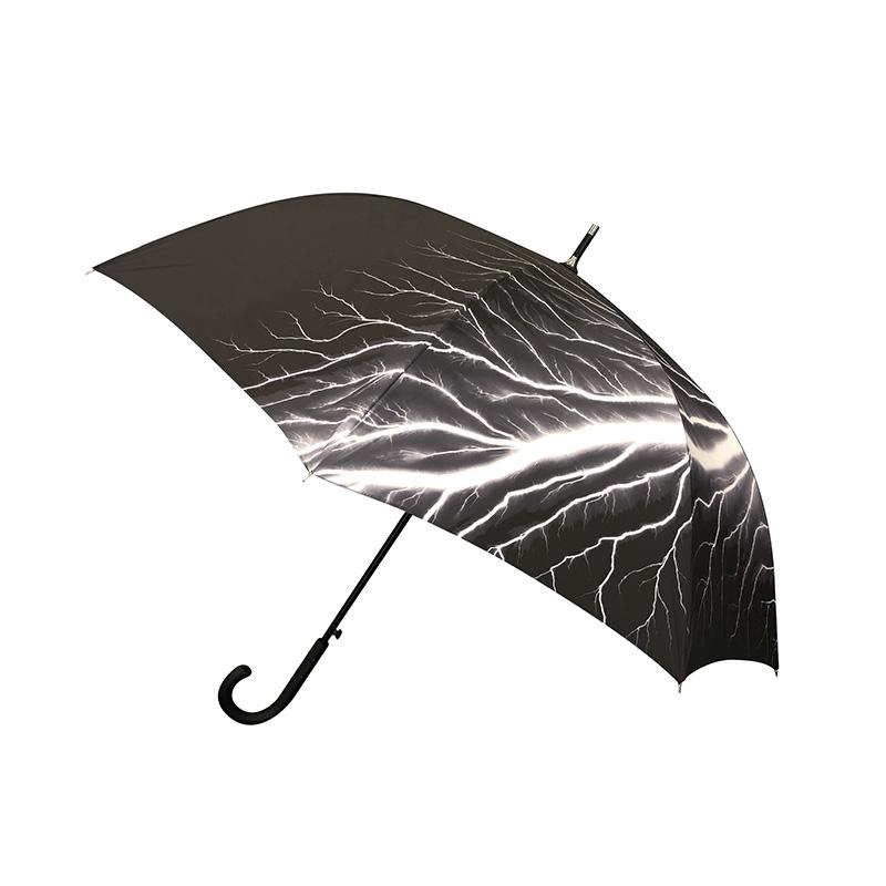 傘 | 杉本博司 放電場 Lightning Fields