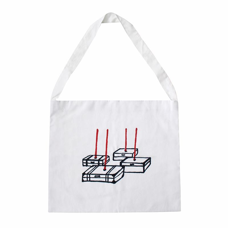 トートバッグ | 塩田千春 ドローイング 1