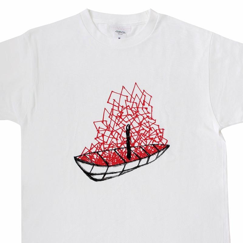 Tシャツ | 塩田千春 ドローイング 1