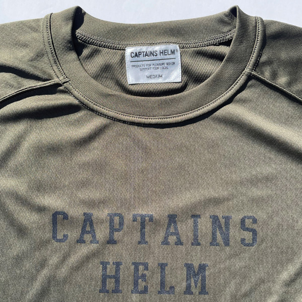 CAPTAINS HELM  #GOLDEN STATE MESH TEE 〜STEADY AND SHAFT LIMITED〜