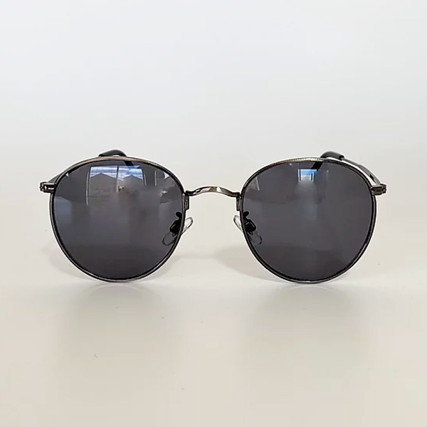 chachowl eyewear  3393 Silver Sunglasses Smoke