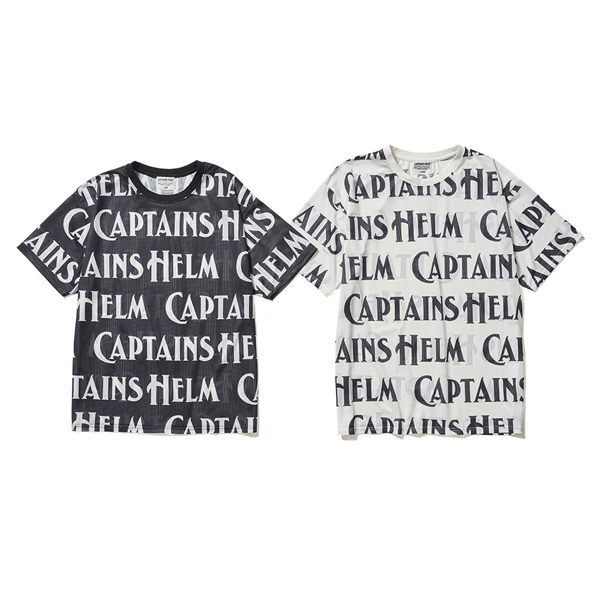 CAPTAINS HELM  #SURFING MESH TEE