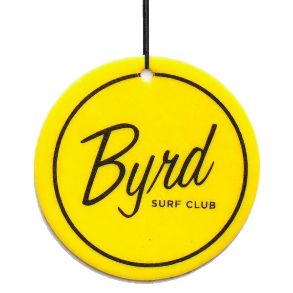 BYRD AIR FRESHENER #BYRD SURF CLUB