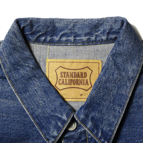 STANDARD CALIFORNIA  Denim Jacket S996 Vintage Wash