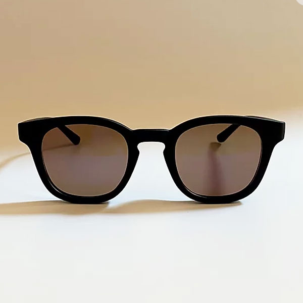 chachowl eyewear  5041 Mat Black Sunglasses Brown