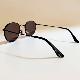 chachowl eyewear  3393 Black Sunglasses Brown