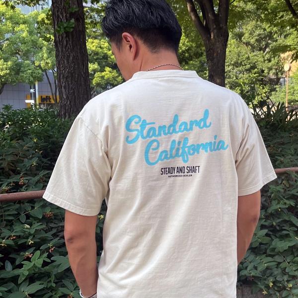 STANDARD CALIFORNIA  Heavyweight Logo Pocket T 〜 STEADY AND SHAFT Limited 〜