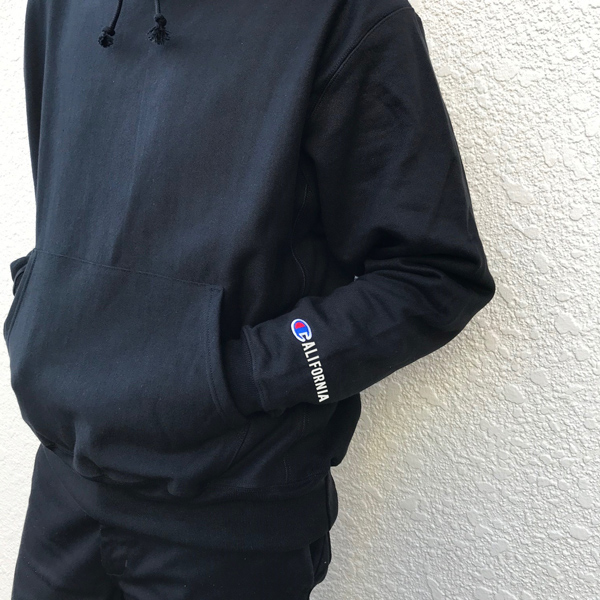 STEADY AND SHAFT  Champion CA-Logo Parka 〜STEADY AND SHAFT Limited〜