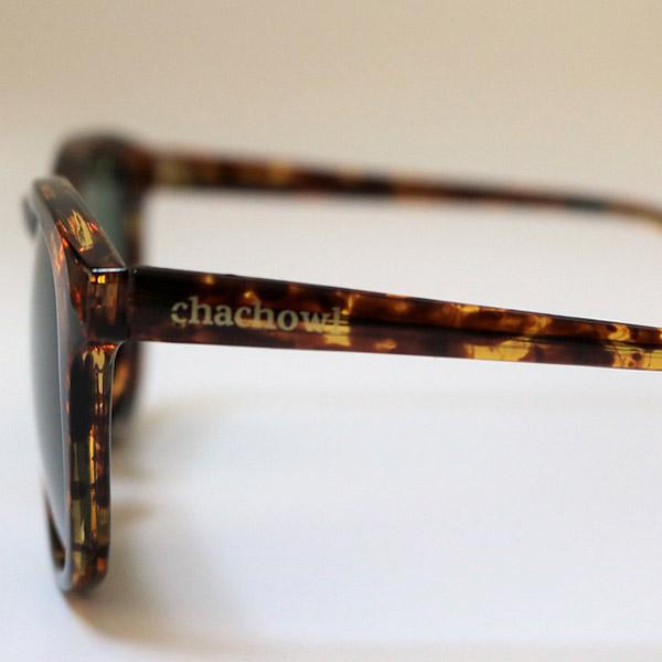 chachowl eyewear  659 Bekko Sunglasses