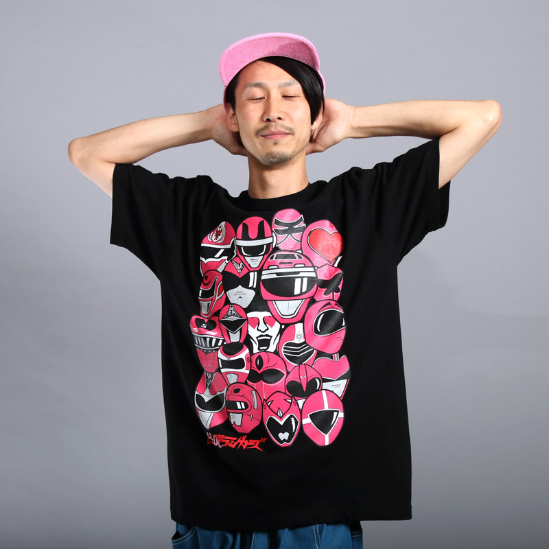 [PDSx東映] ピンク大集合TEE