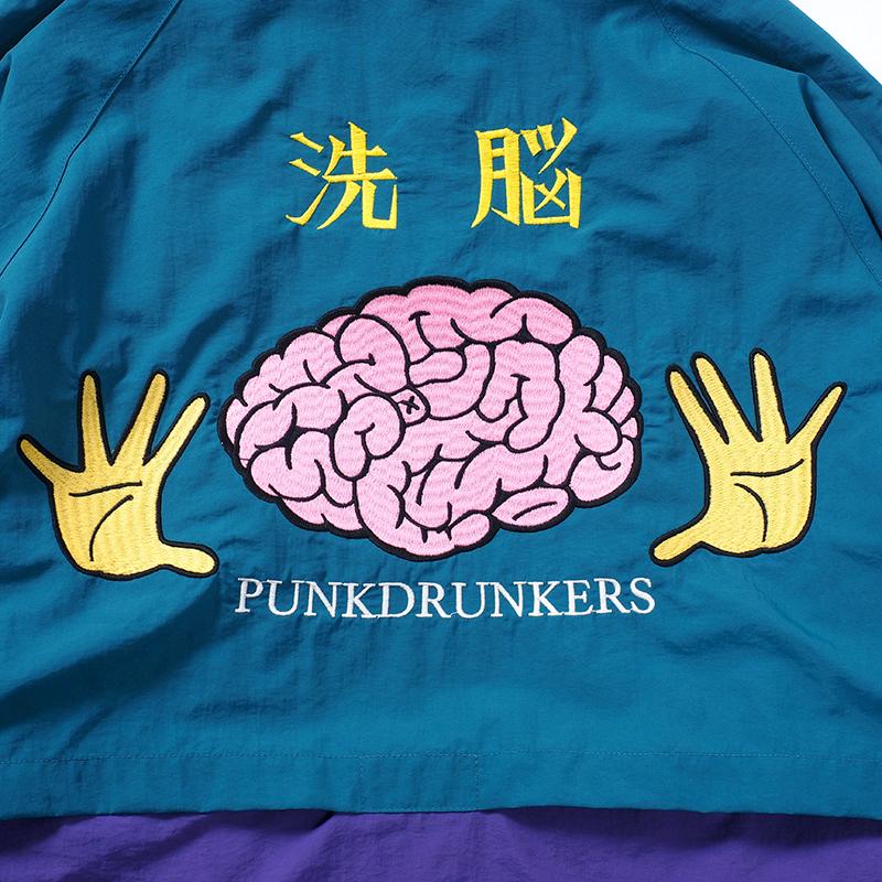 【予約】洗脳ナイロンパーカ