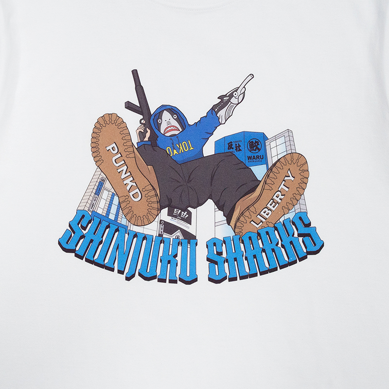 [PDSxLBTY]SHINJUKU SHARKS.TEE