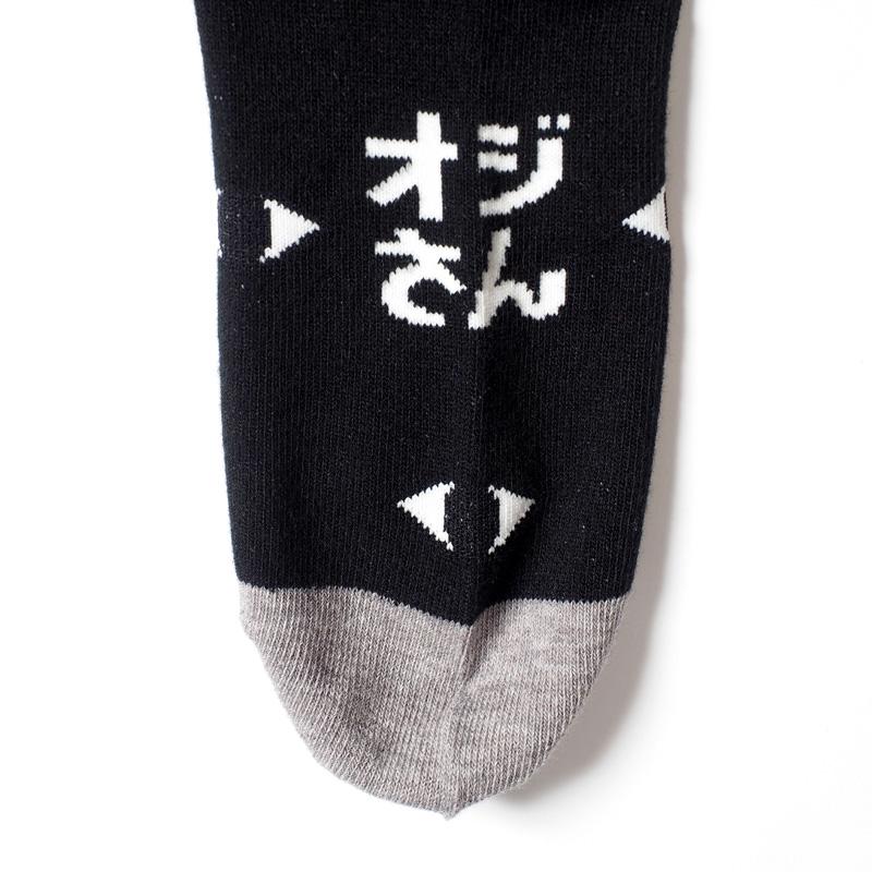 OJISUN総柄靴下 / 目だらけ