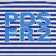 [PDSx#FR2]ウサアイツボーダーL/S TEE / BLUE